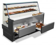 Rivo Cake Display Counter Optionals