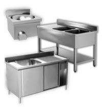 Stainless-Steel Basins, Pot Wash and Handwash Sinks Aisi 430 EKO Range