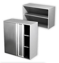 Commercial Stainless-Steel Wall Cabinets Eko Range