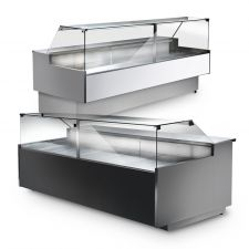 M Series Serve Over Counters – Flat Glass - Optionals