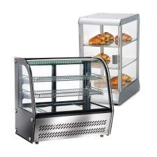 Countertop Display Fridges & Heated Display Cases
