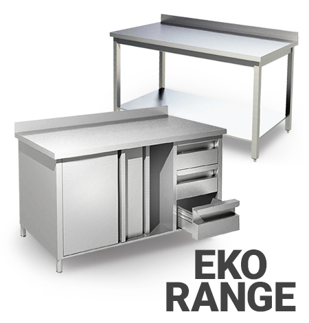 AISI 430 Stainless Steel EKO Range Furniture