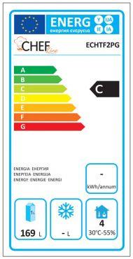 Classe Energetica Tavolo Frigo ECHTF2PG