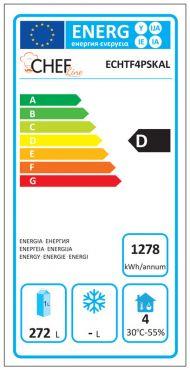 Classe Energetica Tavolo Frigo ECHTF4PSKAL