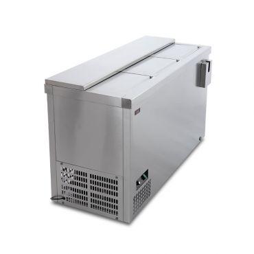 Dettaglio 1 Refrigeratore Bibite Orizzontale a Pozzetto