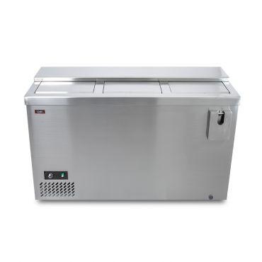 Dettaglio 2 Refrigeratore Bibite Orizzontale a Pozzetto