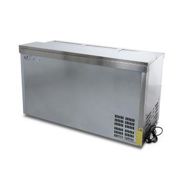 Dettaglio 3 Refrigeratore Bibite Orizzontale a Pozzetto