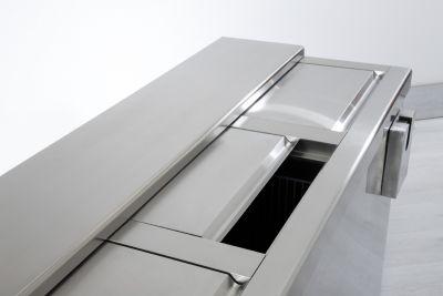 Dettaglio 5 Refrigeratore Bibite Orizzontale a Pozzetto