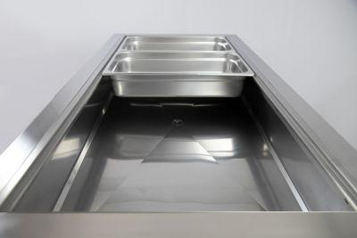 dettaglio drop in refrigerato chefline 2