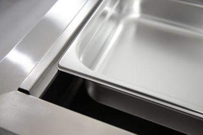 dettaglio drop in refrigerato chefline 3