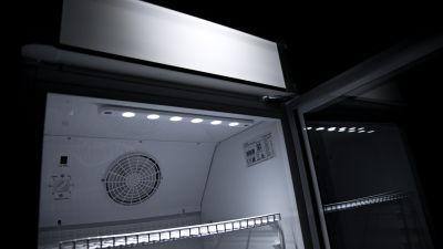 Dettaglio Vetrina Refrigerata Per Bibite 350 Litri Chefline 3