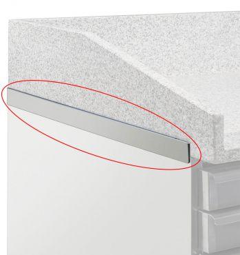 Immagine Dettaglio Banco Pizzeria Refrigerato CHBP28 2 Porte Con Piano Granito + Vetrinetta Ingredienti CHVI1538