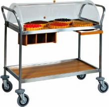 Cheese And Dessert Service Trolley