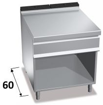 Stainless Steel Worktops And Supports 60 Series For Commercial Ranges