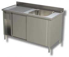 Commercial AISI 304 Stainless-Steel Sink Cabinets