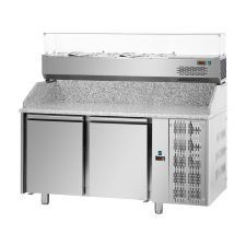Pizza Fridges and Refrigerated Topping Units For Prompt Delivery