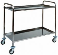 Professional Kitchen Stainless Steel Service Trolleys