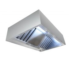 Wall Mounted Extractor Hood Cubic Series