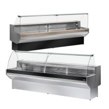 Serve Over Counter - Flat or Curved Glass - Padova