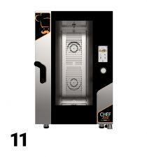 Fours Mixtes Électriques/Gaz Pro Restaurant 11 Niveaux