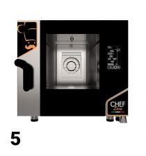 Fours Mixtes Électriques/Gaz Pro Restaurant 5 Niveaux