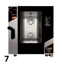 Fours Mixtes Électriques/Gaz Pro Restaurant 7 Niveaux
