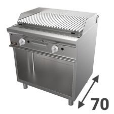 Grilles Pierre de Lave Série 70