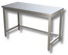 TOP Stainless Steel 4-Legged Work Table
