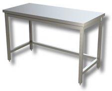 Tables de Travail Sur Pieds en Acier Inoxydable AISI 304 Ligne TOP