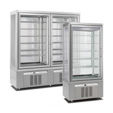 Vertical Ice Cream Display Freezers Classic Line