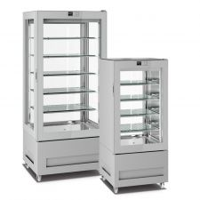 Vertical Ice Cream Display Freezers Top Line