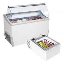 Ice Cream Dipping Cabinets With Tubs