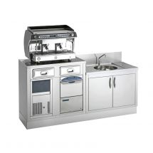 Stainless Steel Back Bar Counter - Top Range
