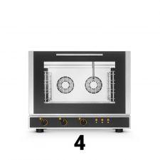 Fours Mixes Électriques Professionnels Restaurant 4 Niveaux