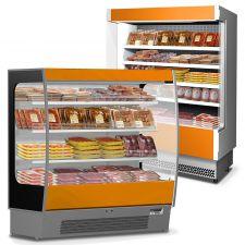 Multideck Display Fridge For Packed Meat