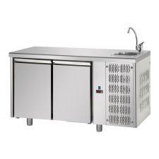 Kühltisch Becken Mit Arbeitsplatte 70 Cm Tief