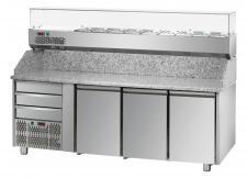 Pizzatisch PZ03EKOC3SX+VR3203VDSX