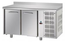 2-Door Worktop Fridge With Upstand 10 Cm - 70 cm Depth