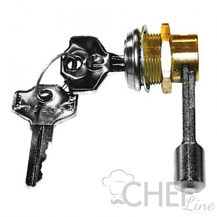 chefook Lock For Chefook Upright Fridges 400 lt