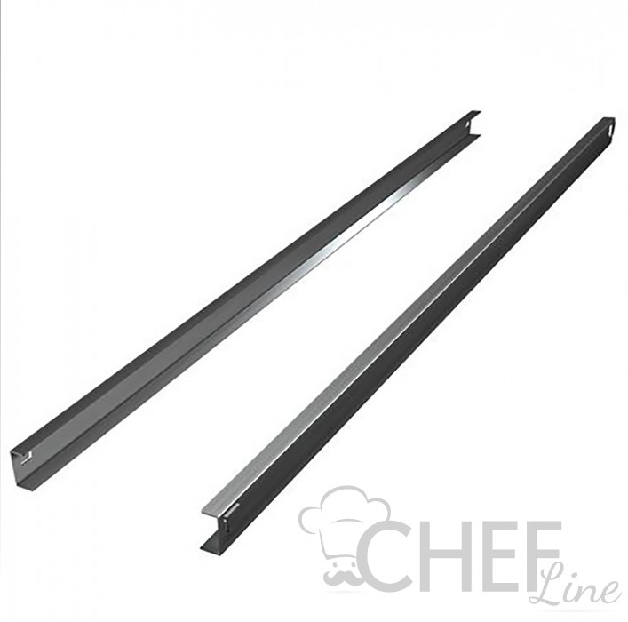 Chefook C-pair Stainless Steel Runners for 600 Liter Chefook Upright Fridges