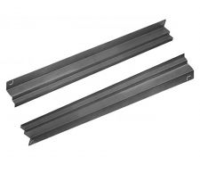 Couple of Stainless Steel Universal Guides For 400 Liter Upright Fridges