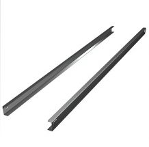 Pair of C Stainless Steel Guides for 900 Liters Upright Fridges