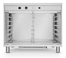 Commercial Dough Proofer With Humidifier 12 60x40cm Trays 2 Doors With Side Opening