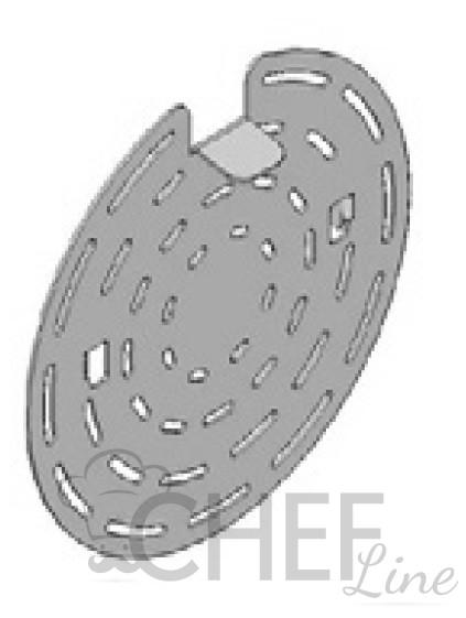 Réducteur d'air pour fours à convection à vapeur