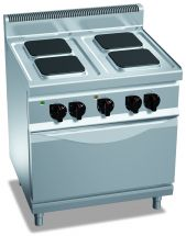Industrial Electric Range CHEX7PQ4+FE