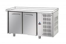 Commercial Counter Fridge Without Worktop 70 cm Depth 2 doors