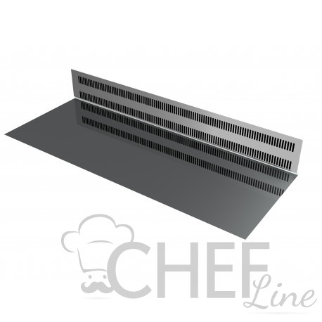 Stainless Steel Display Top and Evaporator Shielding Salina 80