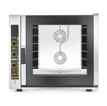 Chefook Commercial Electric Enhanced Convection Oven For Bakery  6  60x40 cm Trays - With Steam - Digital
