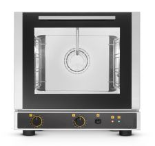 Commercial Convection Ventilated Electric Mini Oven 4 42,9x34,5 cm Trays - With Steam