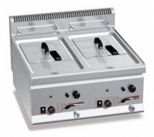 Commercial Gas Fryer CHGXL8+8B